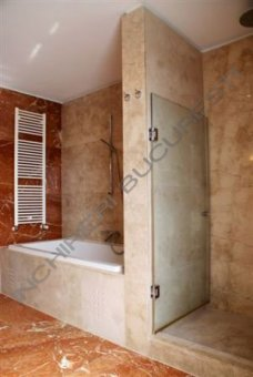 cabina dus ultramoderna apartament lux