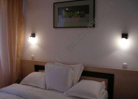 dormitor lux apartament sala paltului cismigiu