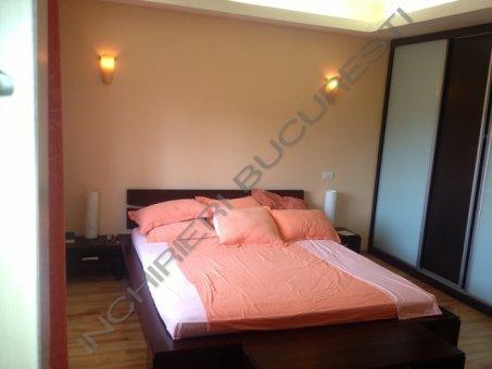 dormitor mobilat apartament arcul de triumf