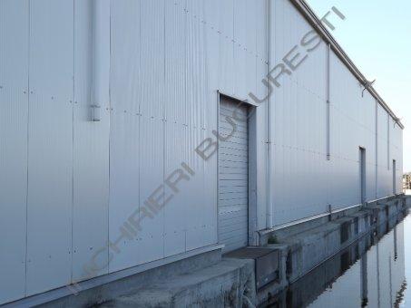 spatiu industrial cu rampa pe a2