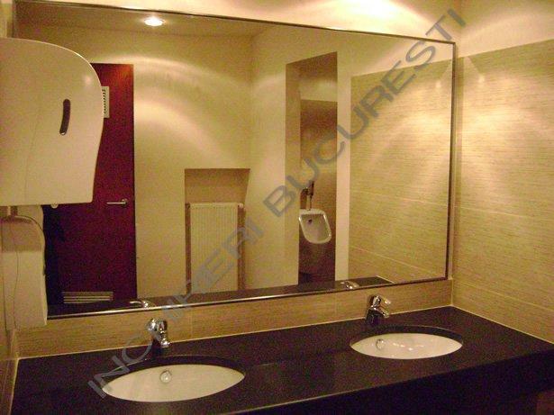 oglinda de perete grup sanitar
