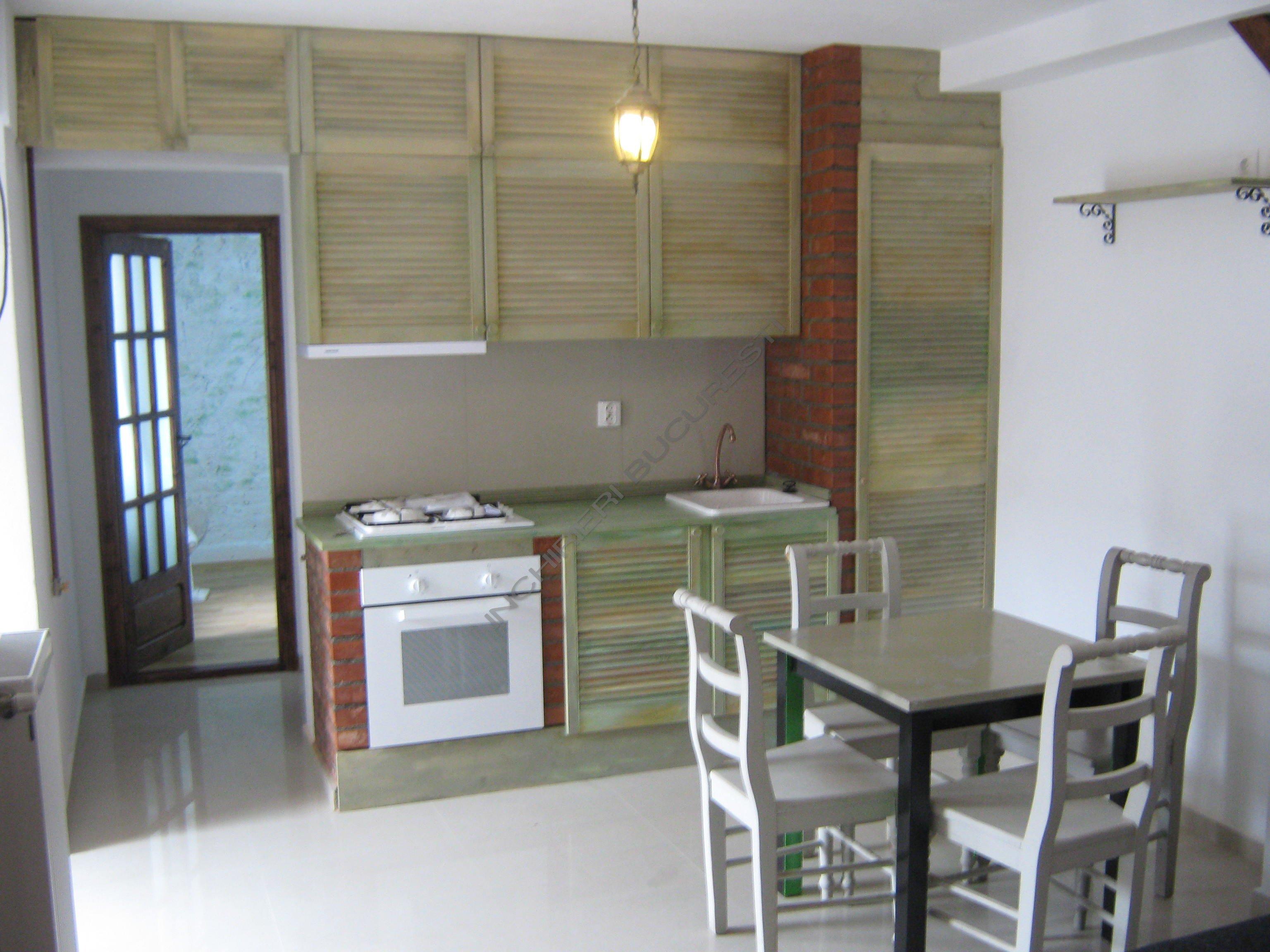 bucatarie mobilata utilata apartament banu manta
