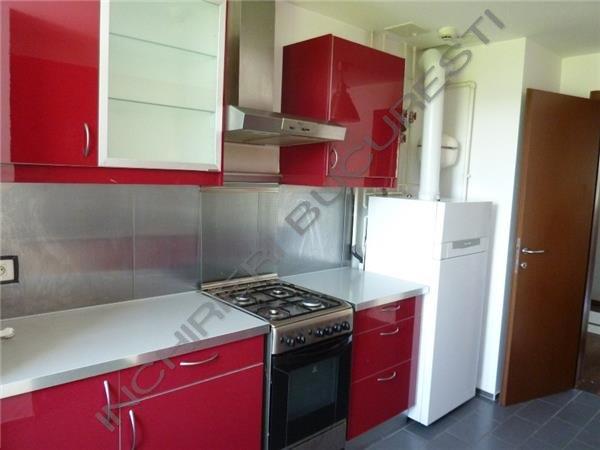 bucatarie rosie apartament baneasa