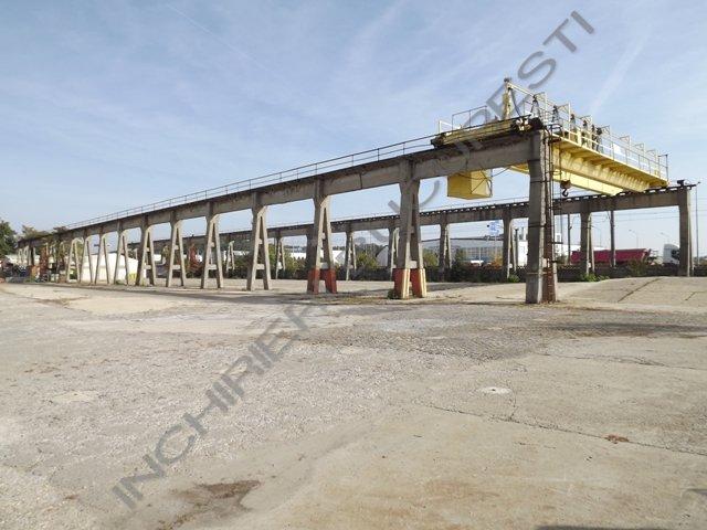 Otopeni platforma betonata de inchiriat